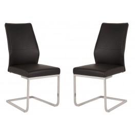 Regis Sydney Black Dining Chair Set of 2