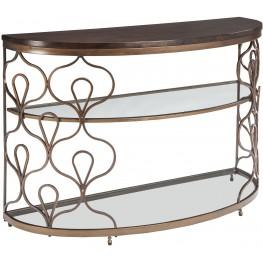 Fraloni Bronze Sofa Table