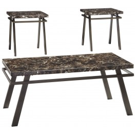 Paintsville 3 Piece Occasional Table Set