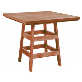 "Generation Cedar 42"" Square Pub Table"