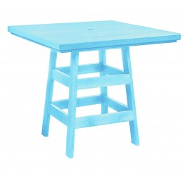 "Generation Aqua 42"" Square Pub Table"