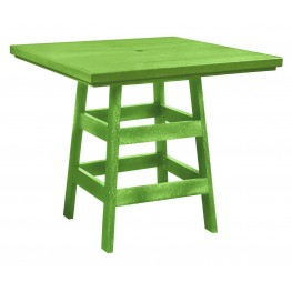 """Generation Kiwi Lime 42"""" Square Pub Table"""
