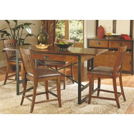 Baja Extendable Counter Height Dining Room Set