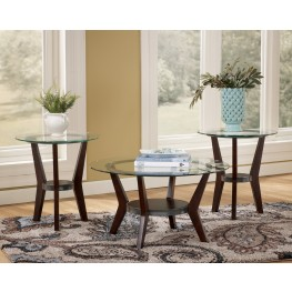 Fantell 3-in-1 Occasional Table Set