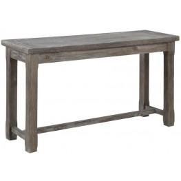 Paladin Rustic Charcoal Sofa Table