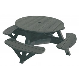 """Generations Slate 51"""" Round Picnic Table"""