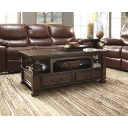 Brosana Brown Occasional Table Set
