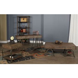 Mission Valley Cinnamon Occasional Table Set