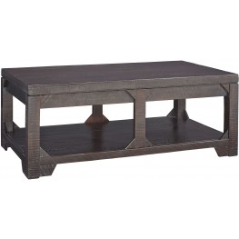 Rogness Brown Lift Top Cocktail Table