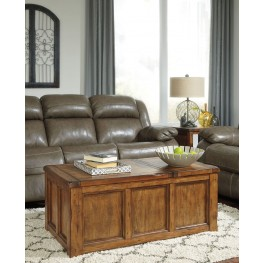 Tamonie Medium Brown Occasional Table Set