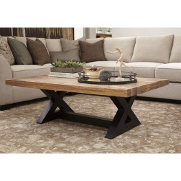 Wesling Light Brown Occasional Table Set