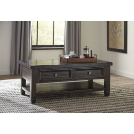Townser Grayish Brown Occasional Table Set