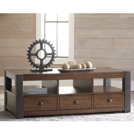 Heidiho Light Brown Occasional Table Set