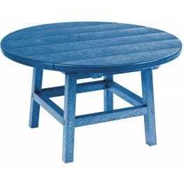 "Generations Blue 32"" Round Cocktail Table"