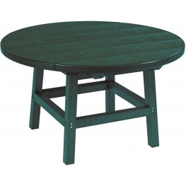 "Generations Green 32"" Round Cocktail Table"