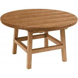 """Generations Cedar 32"""" Round Cocktail Table"""