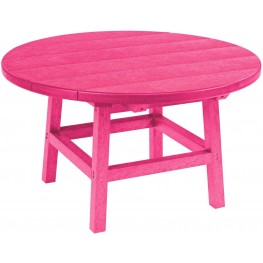 """Generations Fuschia 32"""" Round Cocktail Table"""