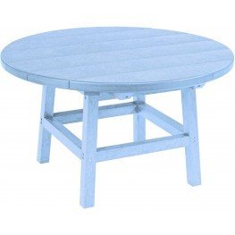 """Generations Sky Blue 32"""" Round Cocktail Table"""