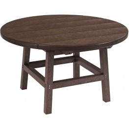 """Generations Chocolate 32"""" Round Cocktail Table"""
