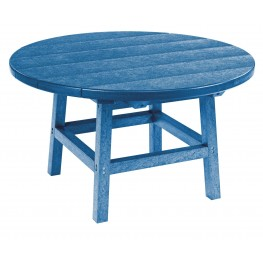 """Generations Blue 32"""" Round Leg Cocktail Table"""