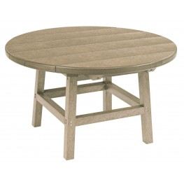 """Generations Beige 32"""" Round Leg Cocktail Table"""