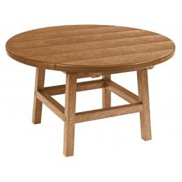 "Generations Cedar 32"" Round Leg Cocktail Table"
