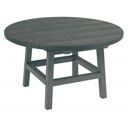 """Generations Slate Gray 32"""" Round Leg Cocktail Table"""
