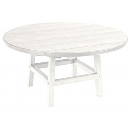 """Generations White 37"""" Round Leg Cocktail Table"""