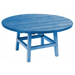"""Generations Blue 37"""" Round Leg Cocktail Table"""
