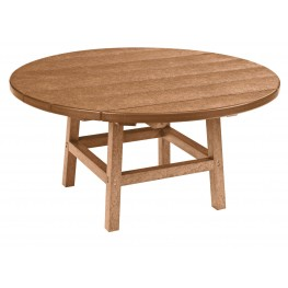 "Generations Cedar 37"" Round Leg Cocktail Table"