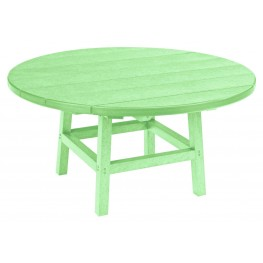 """Generations Lime Green 37"""" Round Leg Cocktail Table"""