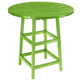 "Generations Kiwi 32"" Round Leg Pub Height Table"