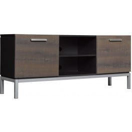 Bell'O Black Cutler Bay TV Stand