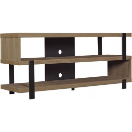 "Bell'O Oyster Walnut 56"" Oak Harbor TV Stand"