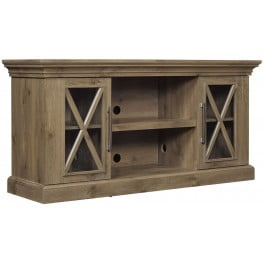 """Bell'O Spanish Gray 58"""" Cottage Grove TV Stand"""