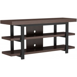 Bell'O Saddleback Brown Oak Timbercroft TV Stand