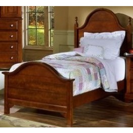 The Cottage Collection Cherry Twin Panel Bed