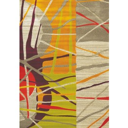 Topaz Abstract Texture Distressed pattern Rug
