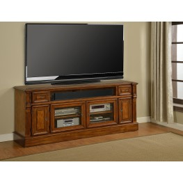 "Toscano Antique Vintage Dark Chestnut 72"" TV Console"