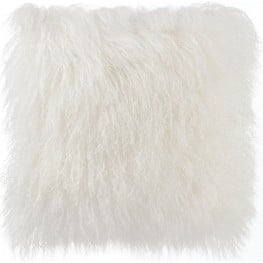 Tibetan Sheep White Pillow