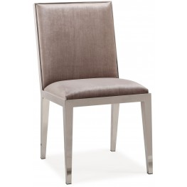 Riley Gray Velvet Dining Chair