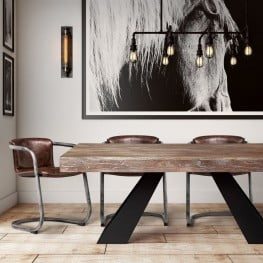 Westwood Elm Rectangular Dining Room Set