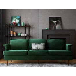 Sofas for sale get living room sofas coleman furniture for Forest green living room furniture
