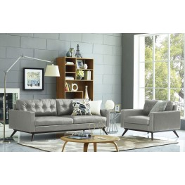 Blake Antique Grey Living Room Set