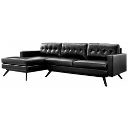 Blake Antique Black LAF Sectional