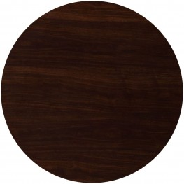 """36"""" Round Resin Walnut Table Top"""