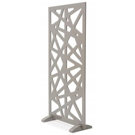 Trance Lattice Brown Decorative Room Divider