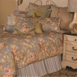 Tricia 13 Pieces King Comforter Set`