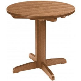 "Generations Cedar 32"" Round Pub Height Table"