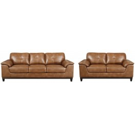 Marquis Chestnut Living Room Set